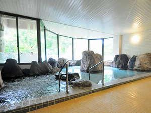 たきのうえホテル渓谷のラジウム温泉
