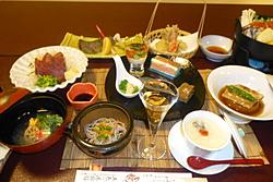 五色の湯旅館食事
