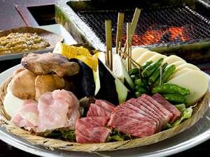 岩村山荘料理