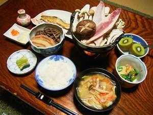 栃尾又温泉 湯治の宿 神風館食事