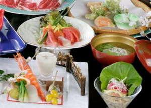 谷津川館食事