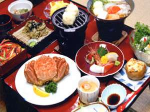 十勝川国際ホテル筒井食事