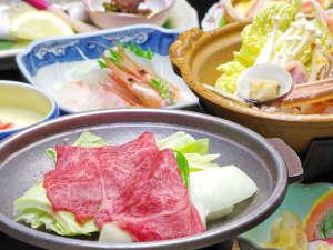 湯らゆら温泉郷 旅館芳月食事
